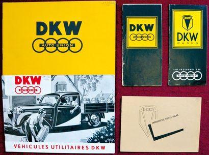 DKW 1937/38 Catalogue 12 pages couleur