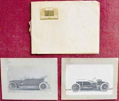 Fiat Avant 1914 Catalogue 24 pages de l'importateur...