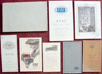 Fiat 1920/25 Catalogue 12 pages