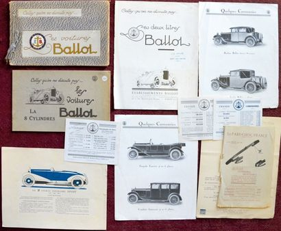 Ballot Export Catalogue 16 pages avec tarif...