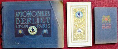 Berliet 1914 Plaquette 40 pages