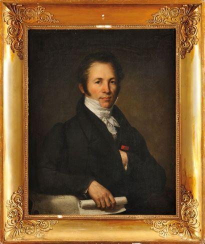 FREDERIC DUBOIS (ACTIF ENTRE 1780 ET 1819). ECOLE FRANÇAISE DU DEBUT DU XIXEME SIECLE