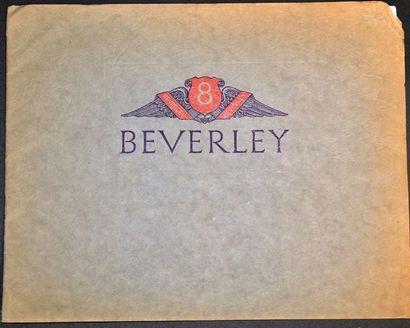 Beverley Catalogue 12 pages sous reliure...