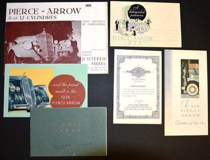 Pierce Arrow Catalogue 32 pages avec vues...