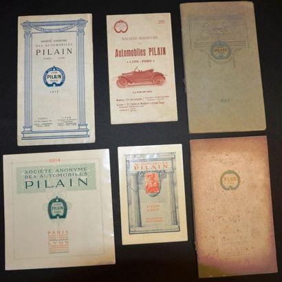 Pilain de Lyon Dépliant 3 volets, gamme,...