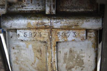 1900 DE DION BOUTON TYPE E Vis-à-vis N° de série: 452 BV n° 1405 Moteur n° 5973 (4...