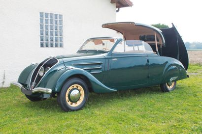 1937 PEUGEOT  402 «ECLIPSE» Châssis n° 478174 Carrosserie Peugeot n° 296 Carte grise...