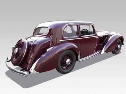 1938 TALBOT BABY COACH Châssis n° 91509 Carte grise française Le fameux moteur T...