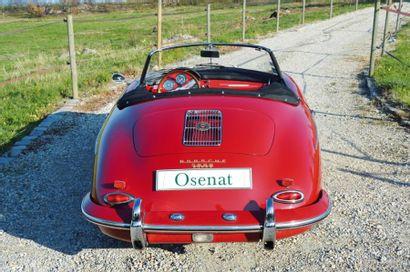 1961 PORSCHE 356 ROADSTER Châssis: 89023 Carte grise française Voici une automobile...