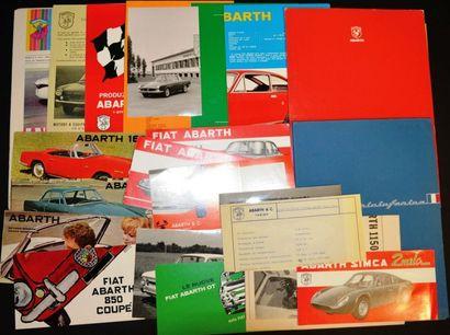 Abarth sur base Fiat 850 ou Simca, ainsi...