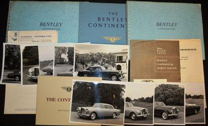 Bentley Continental Dépliant 2 volets, tiré...
