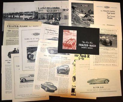 Frazer Nash (Environ 88 voitures construites...