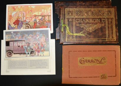 Charron 1912 Dépliant 2 volets, Charron LTD,...