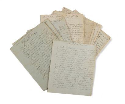LETTRES DE SOLDAT. PICARD. Correspondance...