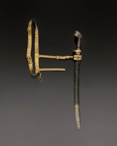 Magnifique dague de vénerie de Boutet ayant appartenu à Fouché duc d'Otrante, Travail...
