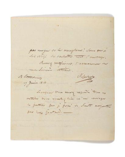 RUSSIE Ensemble d'environ 80 lettres et pièces manuscrites, photographies, estampes....