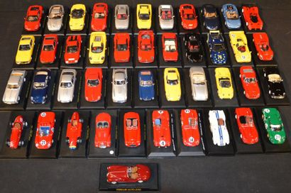 44 Miniatures au 1/ 43 Ferrari