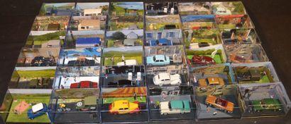 36 Dioramas miniatures au 1/ 43
