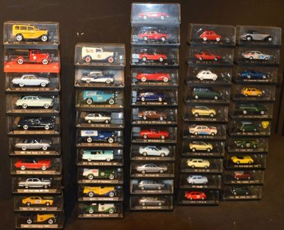 50 Miniatures Solido au 1/ 43 Ford (19),...