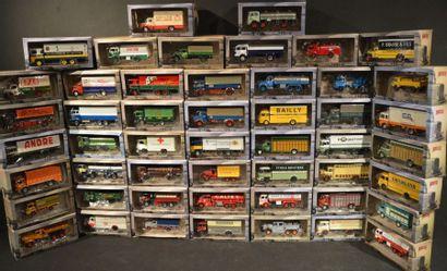 80 Miniatures au 1 /43 Camions
