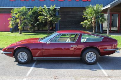 1971 MASERATI INDY 4,2L Châssis n° AM116948 Carte grise de collection Au salon automobile...