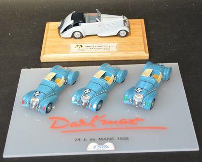 « Peugeot- 402 Darl'Mat roadster le Mans-...