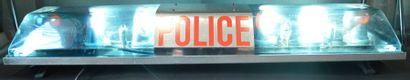 « Gyrophare POLICE »  Pont de 6 gyrophares...