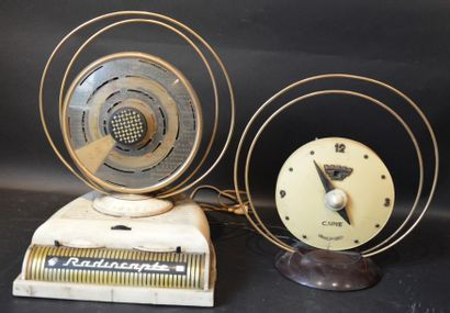 « Radiocapte »  Poste radio de marque Célard, modèle Radiocapte, milieu des années...