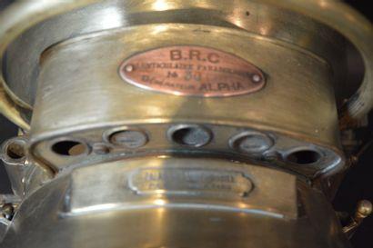 «Auto Générateur BRC »  Phare à acétylène auto générateur BRC Alpha lenticulaire...