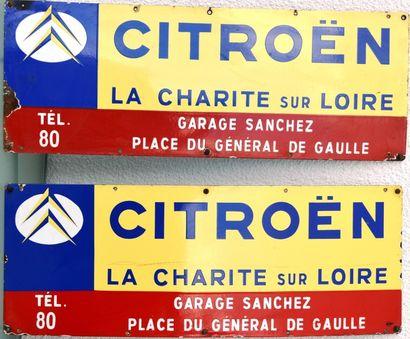 « CITROEN- Garage Sanchez »  Ensemble de...
