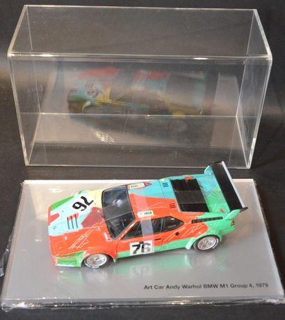 Andy WARHOL ( 1928-1987)  « Art Car Museum Edition » - « BMW M1 Group 4-1979- Art...