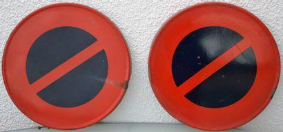 « Panneaux de Signalisation »  Lot d'ancien panneaux de signalisation routière....