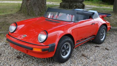 « Porsche 911 Junior »  Voiture à moteur...