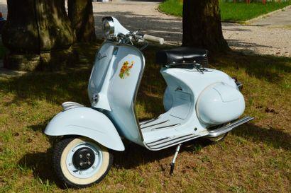 1954 ACMA VESPA  Cadre n° 89809  Carte...