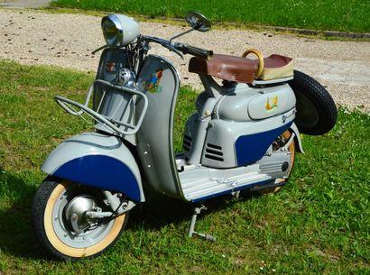 1960 MOTOCONFORT MOBY  Cadre n° 078798...