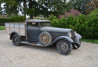 c1932 DELAGE D8 N  Châssis n° 32988  Un...