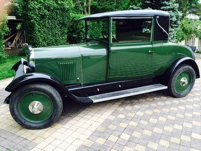 1928 CITROEN B14 G  Châssis n° 330442  Carte...