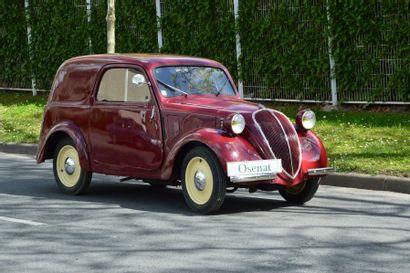 SIMCA 5 FOURGONNETTE  Châssis n° 2762  Carte grise française La Simca 5 est une...