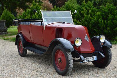 1926 RENAULT NN Châssis n° 204546 Carte...