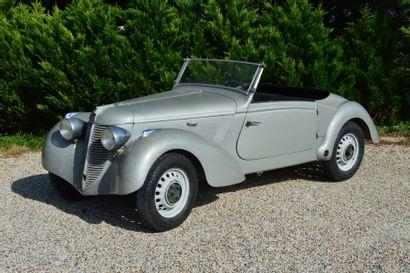 1939 AMILCAR Compound B38 roadster Numéro...