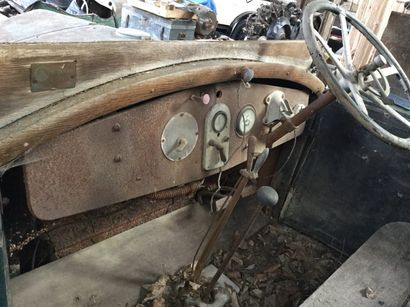 c1927 RENAULT CAMION TYPE OS1 Châssis n° 270064 Carte grise française Ce Renault...