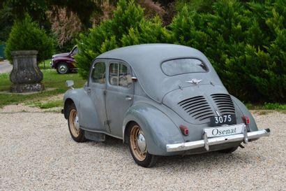 1950 RENAULT 4CV  Châssis n° 1685191  Carte grise française Présentée lors du...
