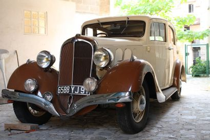 c1938 DELAHAYE 134 BERLINE  Carte grise française C'est en 1894 qu'Emile Delahaye...