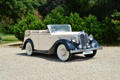 1939 WOLSELEY 1460 CABRIOLET Châssis n°...