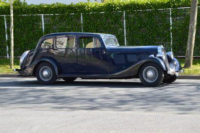 1935 DELAGE D8-85  Châssis n° 40.087  Carrosserie...