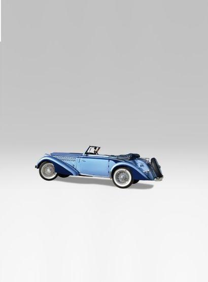 1939 DELAHAYE 135MCABRIOLET CHAPRON Châssis n° 60188 Carte grise française Ce magnifique...