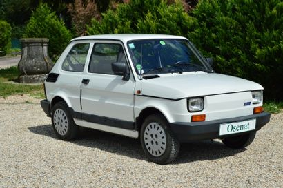 1991 FIAT 126 BIS  Châssis n° 126AA43A  Carte grise française  Seulement 9 200...
