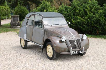1955 CITROEN 2CV AZ  Carte grise française...