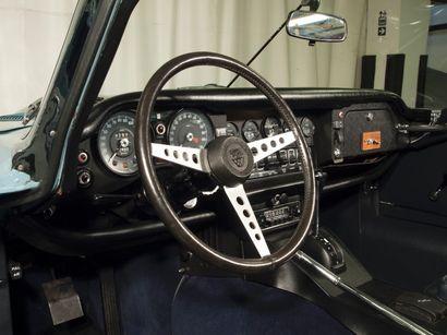 1972 JAGUAR TYPE E V12CABRIOLET Châssis n° 1S20236BW Titre de circulation européen...