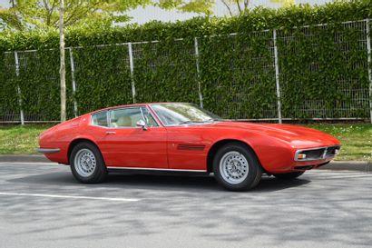 1970 MASERATI GHIBLI 4.7L  Châssis n° AM*115*1504...